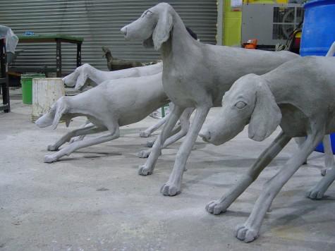 Concrete Fox Hounds